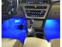 Hyundai Interior Lighting Kit,Blue LED,Automatic Transmission only - 3X068-ADU00
