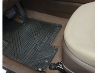 Hyundai All Weather Floormats,Rear Set - 2SF13-AC500