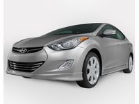 Hyundai Elantra Side Body Kit,Titanium Gray Metallic (N5S) - 3XF30-AB400-N5S