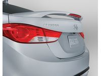 Hyundai Rear Trunk Wing Spoiler,Red Allure (S2R) - 3XF34-AB200-S2R