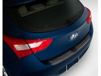 Hyundai Rear Bumper Appliqué - Black - A5027-ADU00