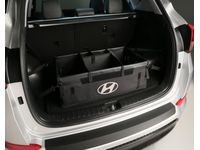 Hyundai 00012-ADU00 Cargo Organizer,Only Fits With Rear Seats In Down Position