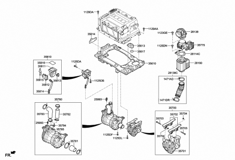2017 Hyundai Tucson Fuel Cell Fuel Cell System