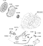 Diagram for Hyundai Clutch Fork - 41430-23000