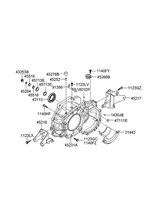 2007 hyundai elantra auto transmission case hyundai parts deal  honda wiring diagrams 2006 to 2011