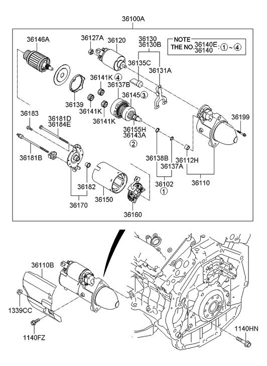 [SCHEMATICS_48DE]  2007 Hyundai Entourage Starter - Hyundai Parts Deal | 2007 Hyundai Entourage Engine Diagram |  | Genuine Hyundai Parts