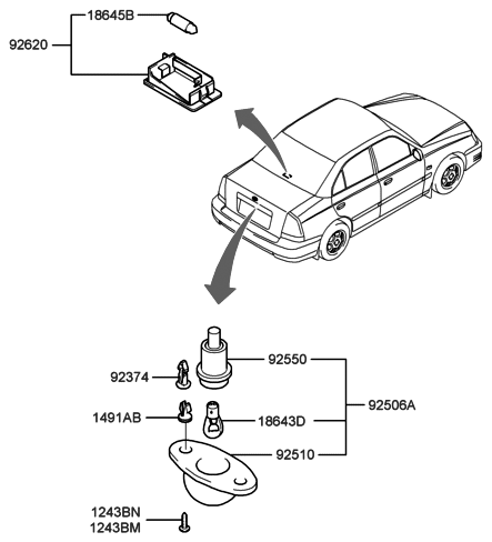 Electrical License Plate Rotating License Plate Wiring