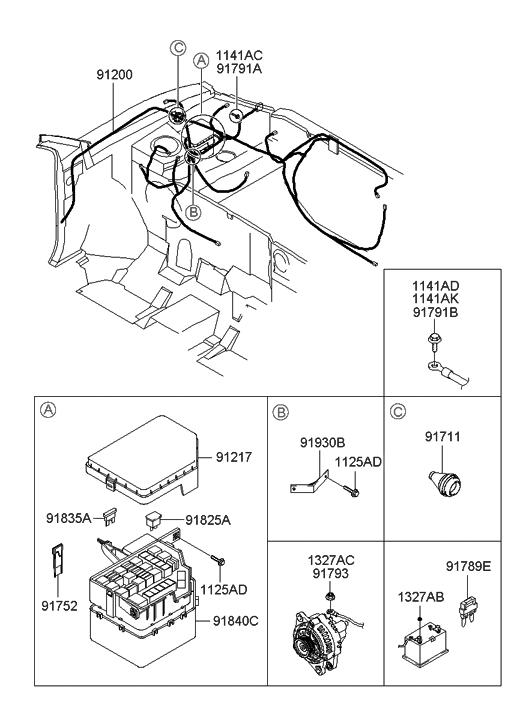 2004 Hyundai Accent Engine Diagram - Wiring Diagram
