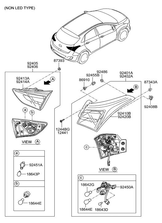 92410-A5011 - Genuine Hyundai Parts