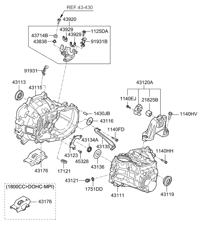 2014 Hyundai Elantra Parts Diagram