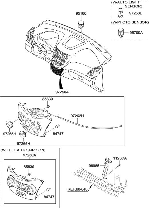 2016 Hyundai Accent Heater System-Heater Control