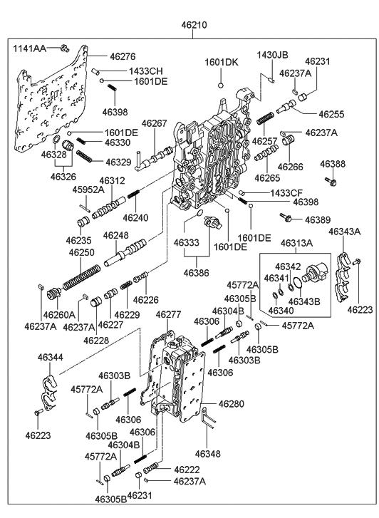 2002 hyundai elantra transmission valve body hyundai parts jeep grand cherokee valve body valve body hyundai elantra #2