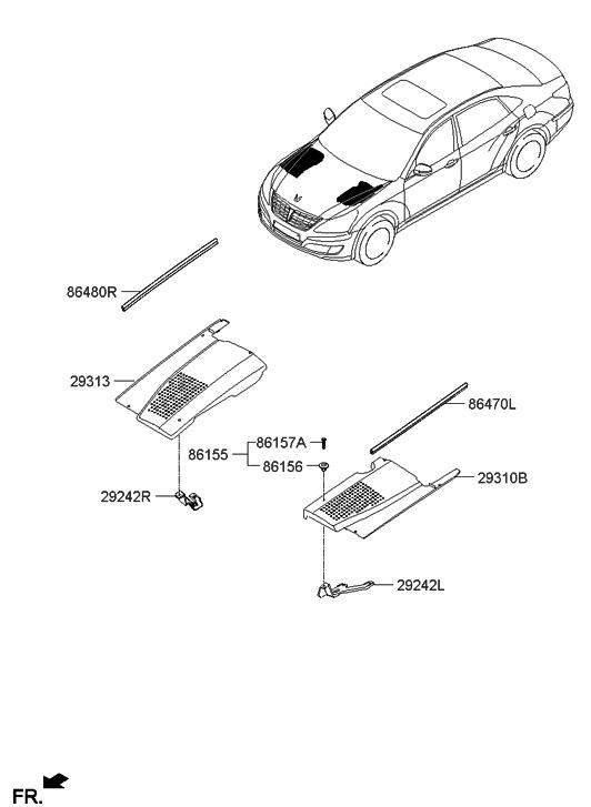 Hyundai Equus Parts Diagram. Hyundai. Auto Wiring Diagram