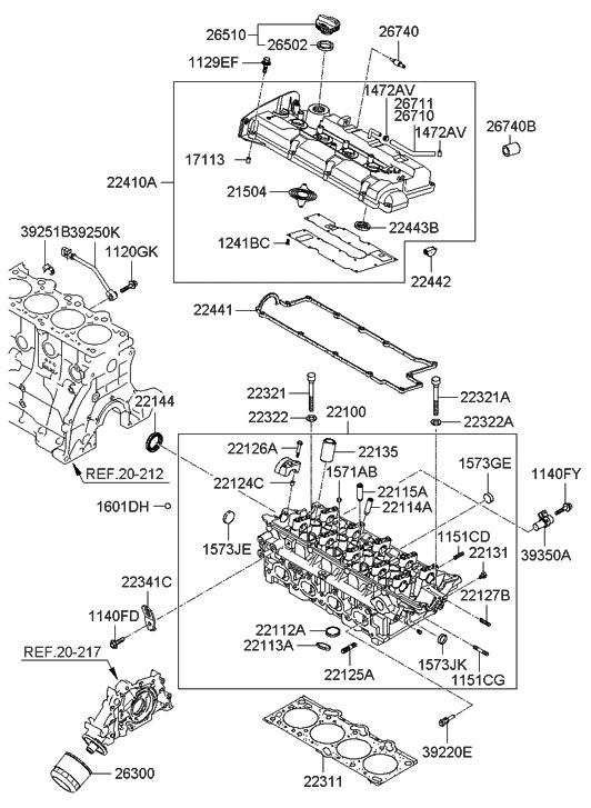 Hyundai 22144-3B001