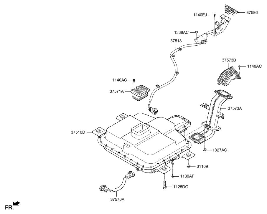 Diagram 375864r000 Hyundai Plug Safety Assembly