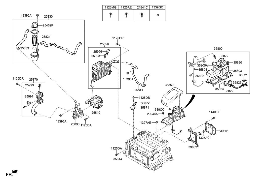 hyundai 35872 4w000 Hyundai Engine Diagram