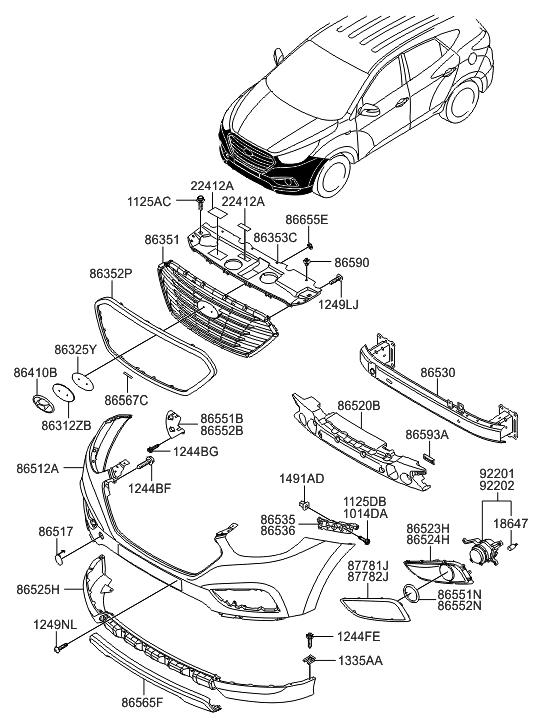 31 Hyundai Tucson Parts Diagram