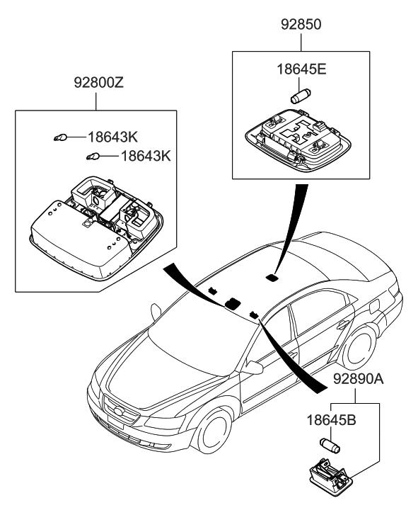 2010 Hyundai Sonata Starter Location