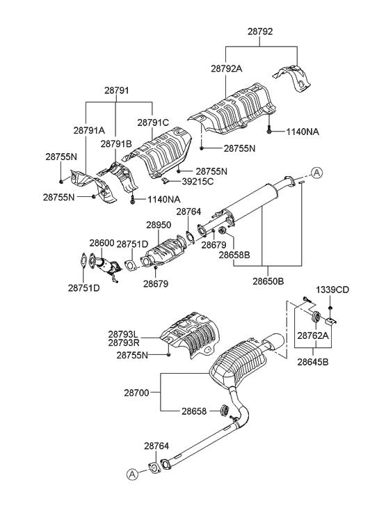 08 Hyundai Sonata Belt Diagram