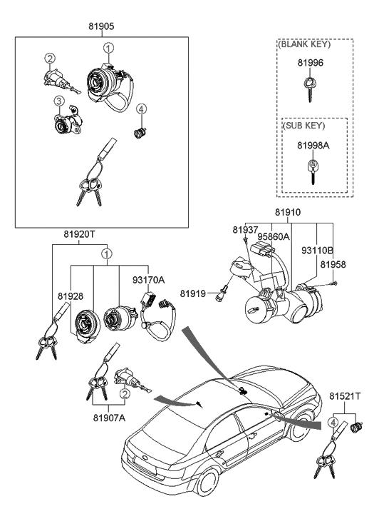 Wiring Diagram: 28 2008 Hyundai Sonata Parts Diagram