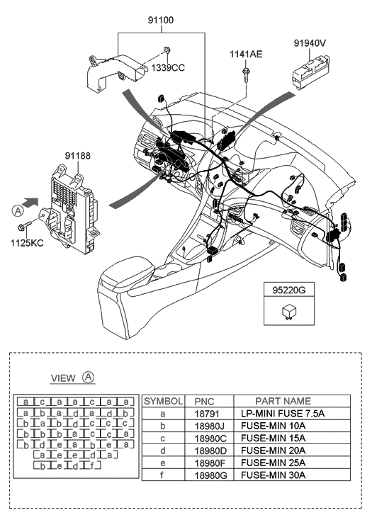 95240 3x200 genuine hyundai relay assembly power. Black Bedroom Furniture Sets. Home Design Ideas