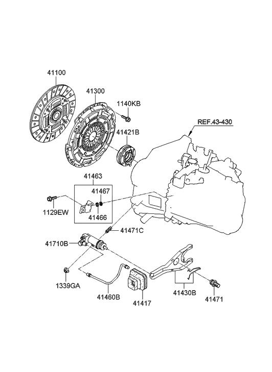 41100 32100 genuine hyundai disc assembly clutch rh hyundaipartsdeal com 2006 Hyundai Sonata Parts Diagram 2002 Hyundai Sonata Parts Diagram