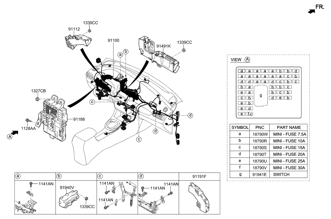 2018 hyundai elantra gt main wiring hyundai parts deal  elantra touring wiring diagram #9