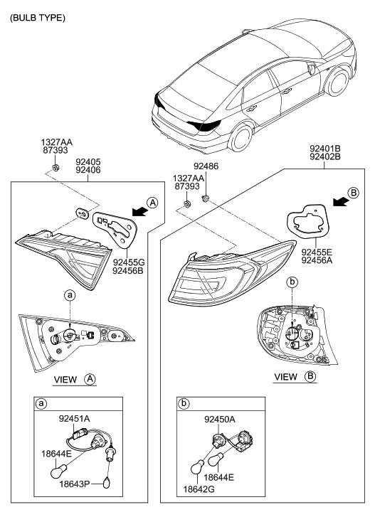 92402 C2000 Genuine Hyundai Parts