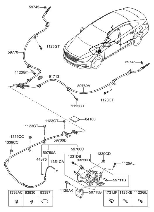 Hyundai Sonata Brake Switch