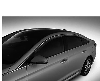 2015 Hyundai Sonata Door Visors  sc 1 st  Hyundai Parts & C2022-ADU00 - Genuine Hyundai Door Visors