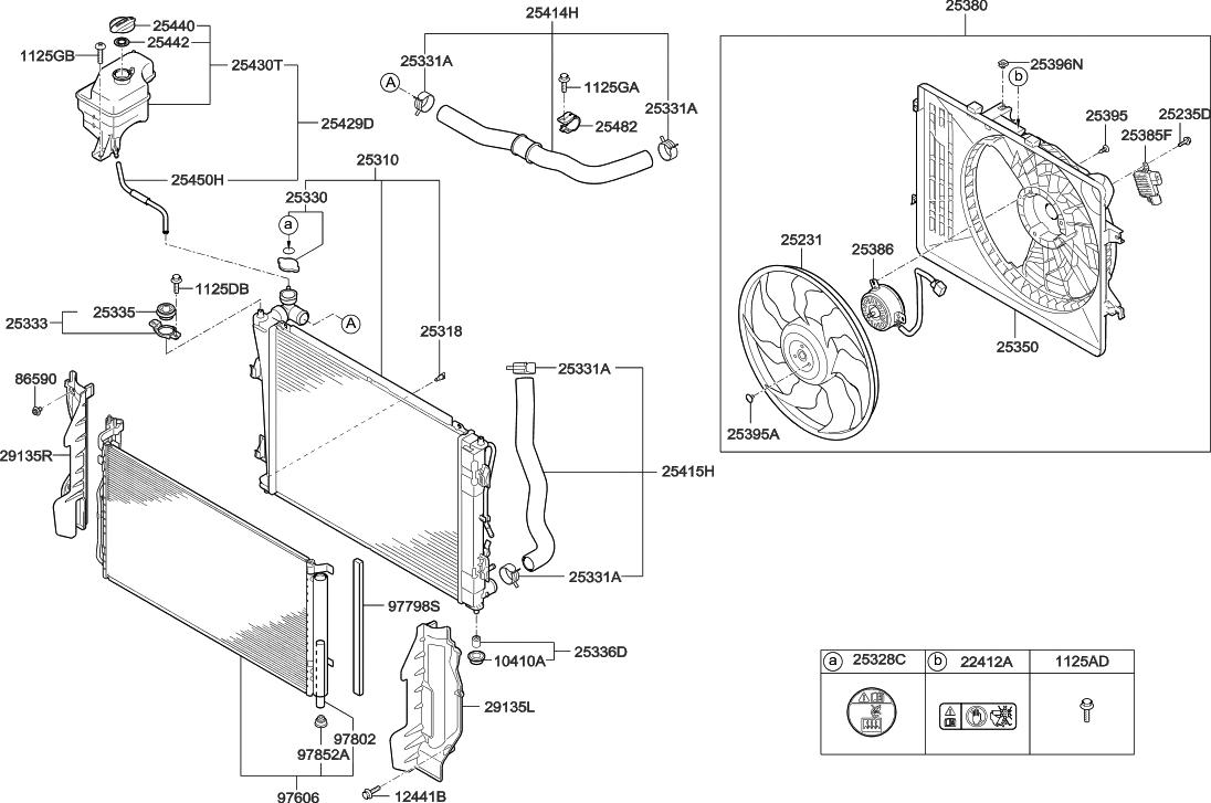2015 Hyundai Azera engine-cooling-system