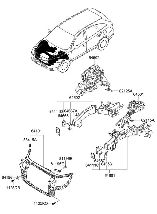 engine diagram for 2007 hyundai veracruz 3 8