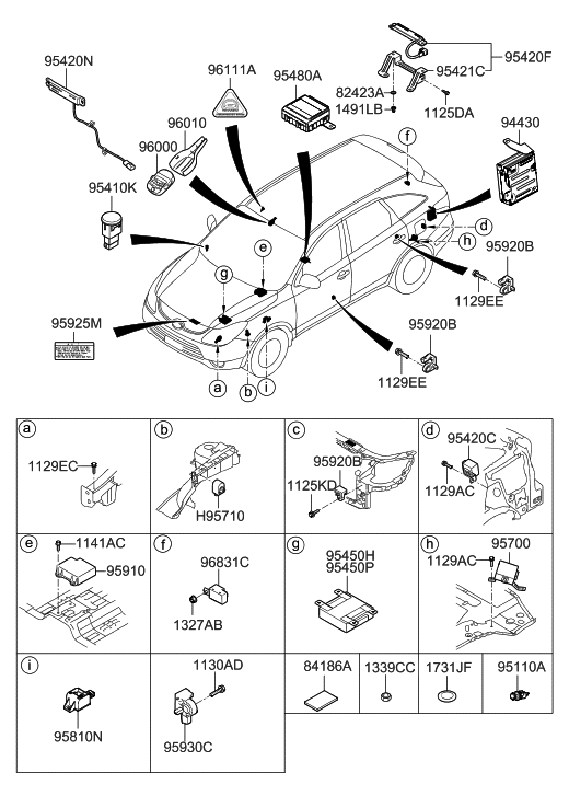 2007 hyundai veracruz relay module hyundai parts deal rh hyundaipartsdeal com 2002 Hyundai Sonata Wiring-Diagram 2009 Hyundai Sonata Wiring-Diagram