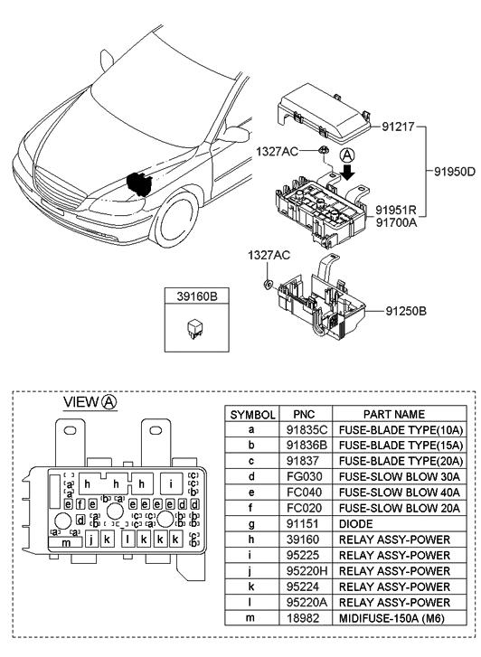 ddc08-10010 - genuine hyundai diode azera engine diagram the engine diagram for gm v6 vvt engine #9
