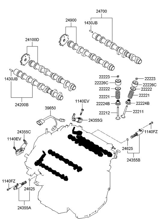 genesis coupe exhaust diagram