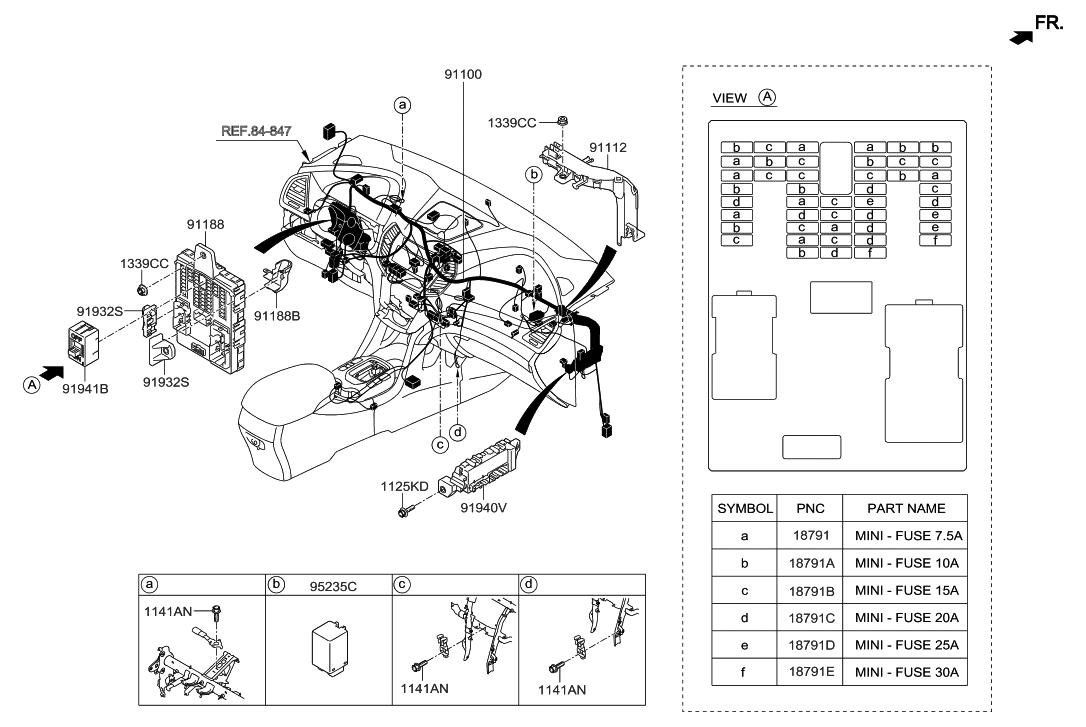 91940 b8510 genuine hyundai box assembly icm relay. Black Bedroom Furniture Sets. Home Design Ideas