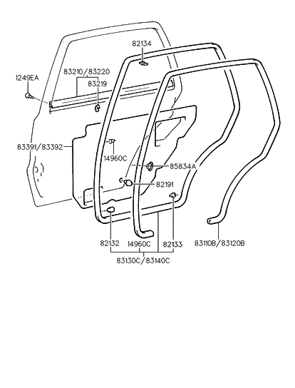 Hyundai Sonata Body Parts List