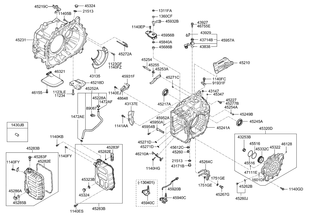 hyundai transmission parts diagram  u2022 wiring diagram for free