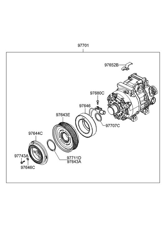 2007 Hyundai Sonata Pulley Diagram Com