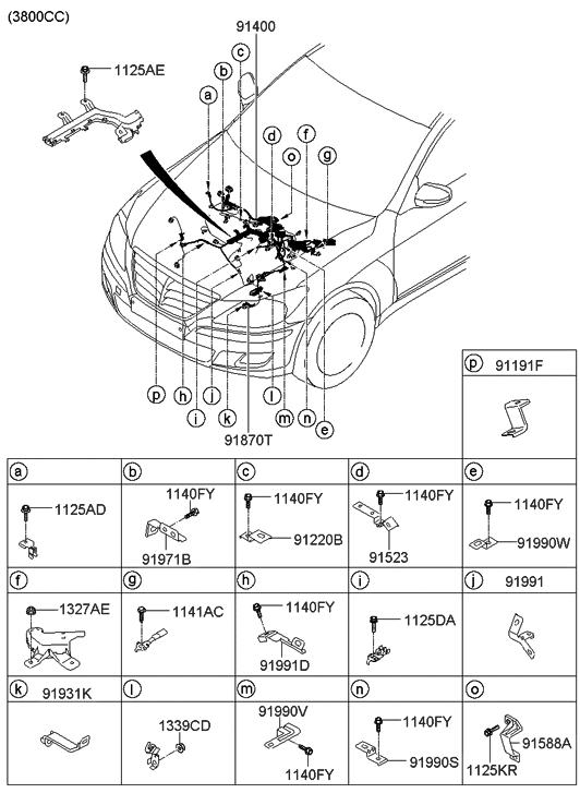 91414-3M021 - Genuine Hyundai PartsGenuine Hyundai Parts