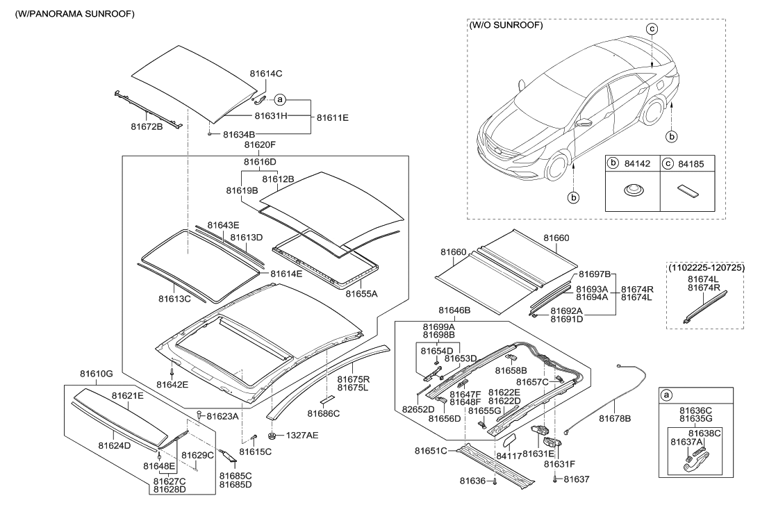 81652 3s010 Genuine Hyundai Shoe Front Sled 2010 Sonata Engine Diagram New Body Style Sunroof