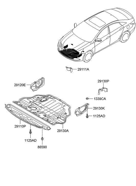 Hyundai Sonata Engine Cover