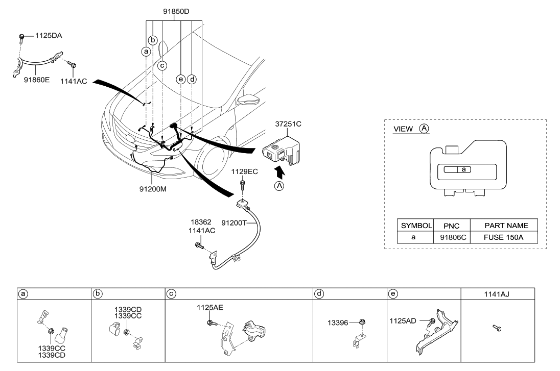 91860 3s510 genuine hyundai wiring assembly transmission. Black Bedroom Furniture Sets. Home Design Ideas