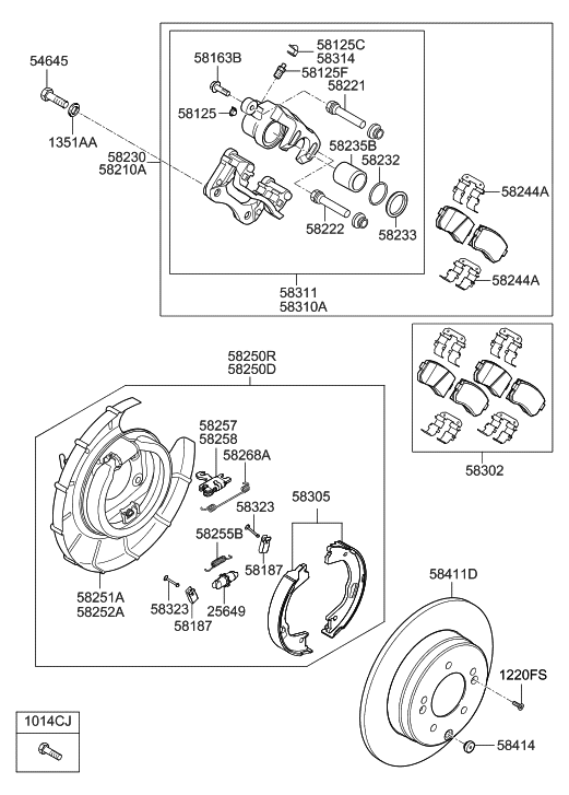 Wiring Diagram Database: Hyundai Sonata Parking Brake Diagram