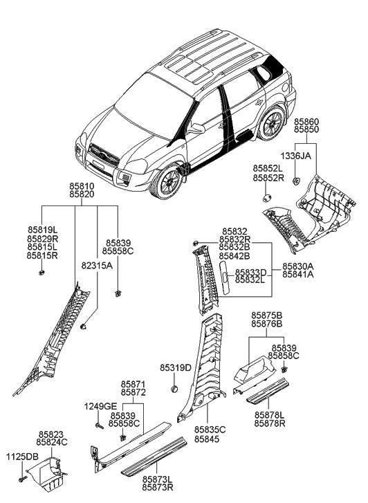 Pro Braking PBC1222-CAR-BLU Braided Clutch Line Carbolook Hose /& Stainless Blue Banjos