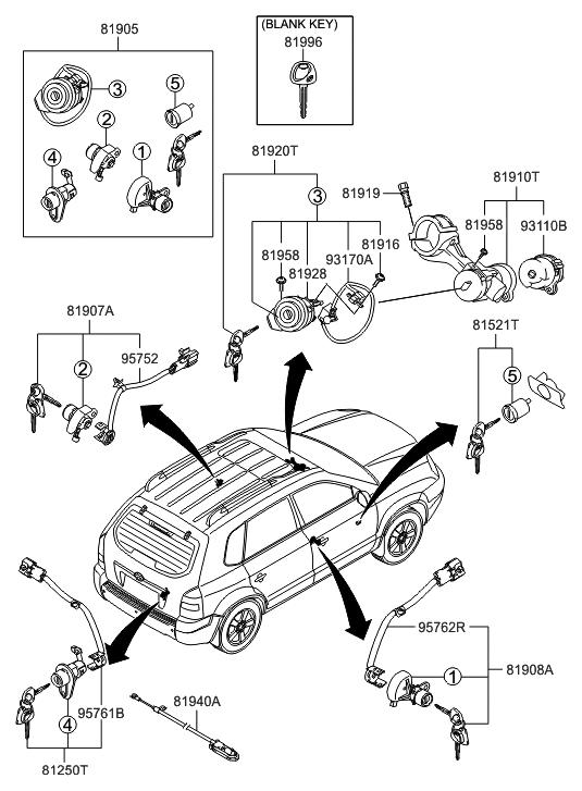 81910-2EA10 - Genuine Hyundai Parts