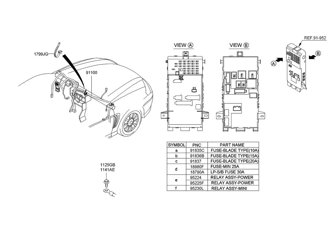 2006 Hyundai Tiburon New Body Style Main Wiring
