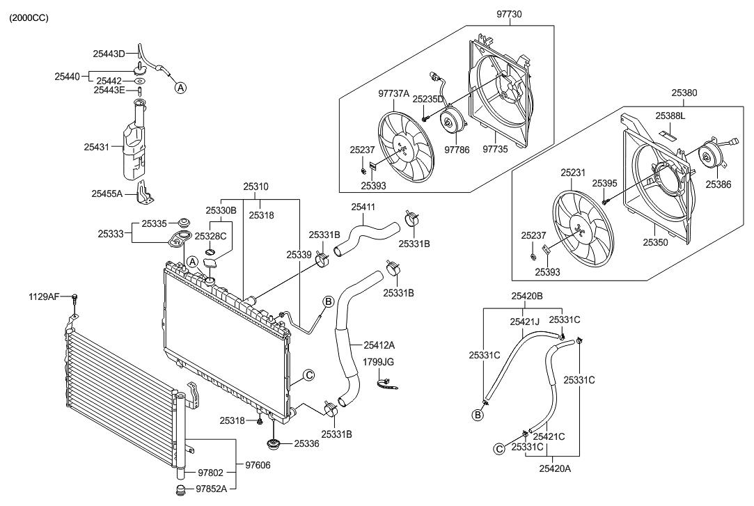 2007 Hyundai Tiburon Engine Diagram Wiring Library Coupe Fuse Box Cooling System Thumbnail 1