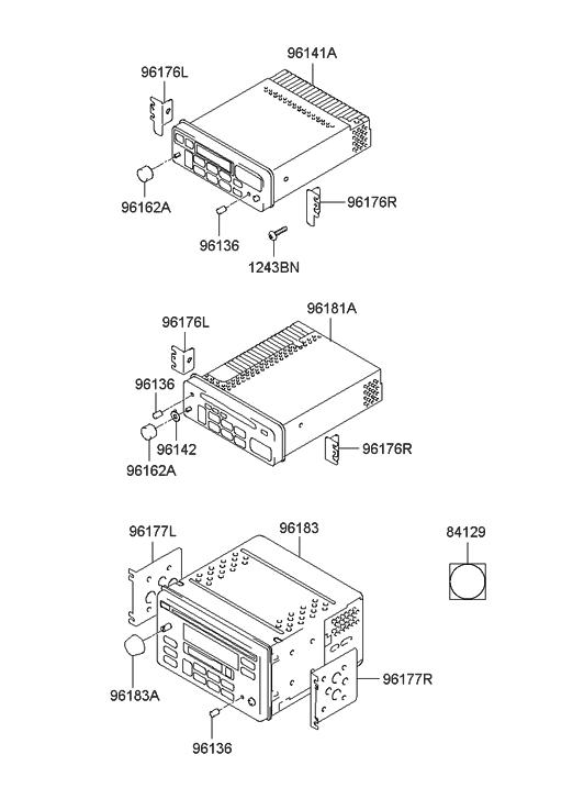 2003 Hyundai Sonata Audio - Hyundai Parts Deal on
