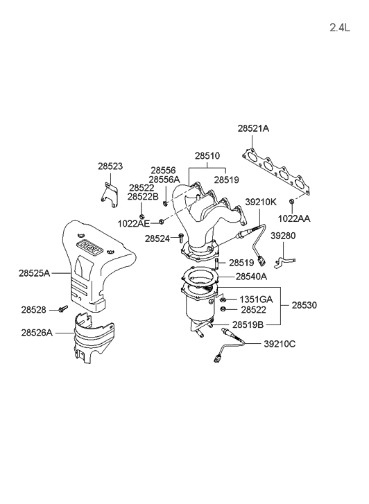 Wiring Diagram PDF: 2002 Hyundai Sonata Engine Diagram